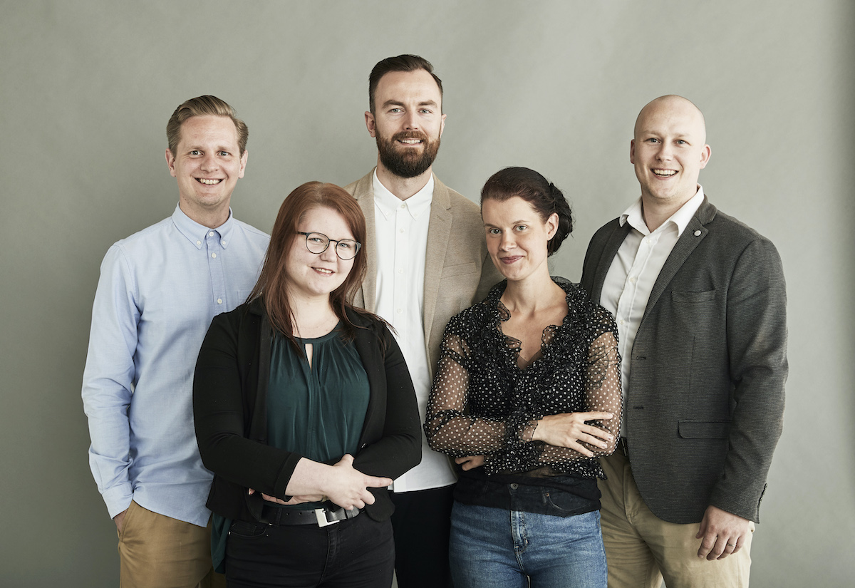 Finnish Design Shop Contract Sales team
