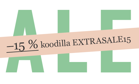 –15 % kesäalen tuotteista!