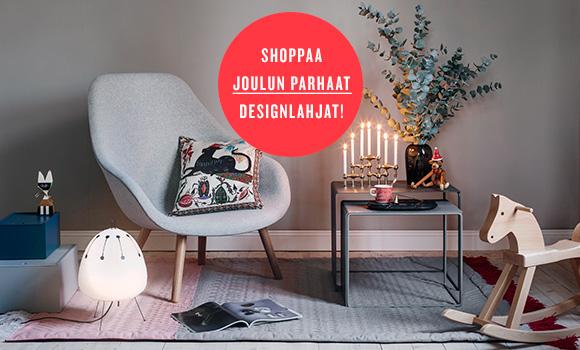 Joulun lumoavat designlahjat