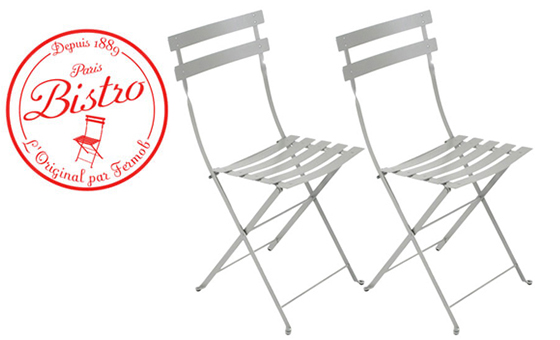 Bistro Metal -tuolisetit